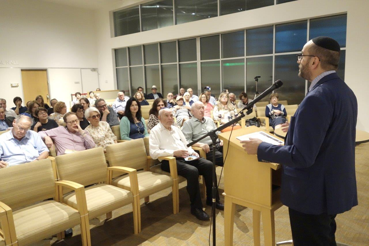 "Rabbi Dunner delivers his ""Wild Wild West"" Jewish History Lecture, Beverly Hills Synagogue (07/11/2018)"