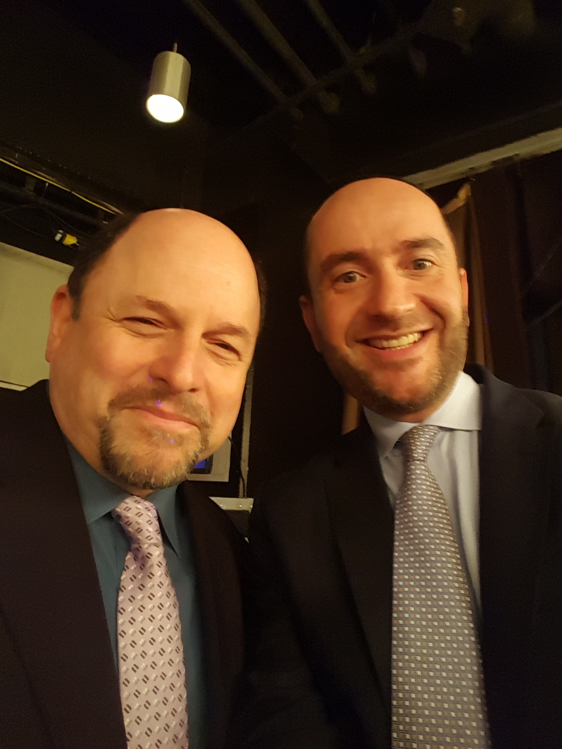 "Rabbi Dunner with ""Seinfeld"" actor Jason Alexander, Beverly Wilshire Hotel (2015)"