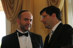 Rabbi Dunner with Rabbi Steven Weil of the Orthodox Union, Beverly Hills Hotel (2015)