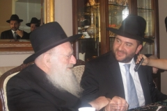 Rabbi Dunner with Rabbi Matisyohu Salomon of Beth Medrash Govoha, Lakewood NJ (2012)